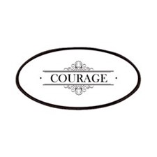 Courage Calligraphy Patches