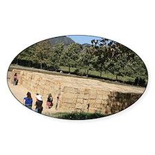 Hay Maze at Avila Farm Decal