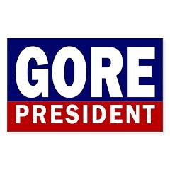 Gore: President Bumper Decal