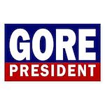 Gore: President Bumper Sticker