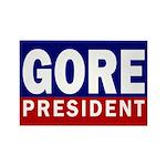 Gore: President Fridge Magnet