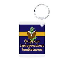 Support bookworm Keychains