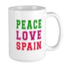 Peace Love Spain Mug