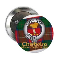 "Chisholm Clan 2.25"" Button"