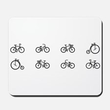 Bicycles Mousepad