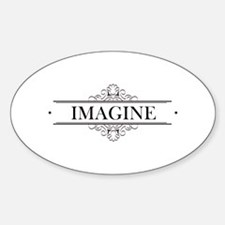 Imagine In Calligraphy Decal