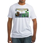 Spider Fathers Day Fitted T-Shirt