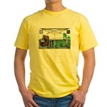Spider Fathers Day Yellow T-Shirt