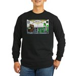 Spider Fathers Day Long Sleeve Dark T-Shirt