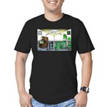 Spider Fathers Day Men's Fitted T-Shirt (dark)