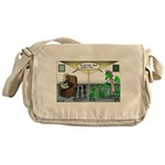 Spider Fathers Day Messenger Bag