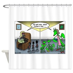 Spider Fathers Day Shower Curtain