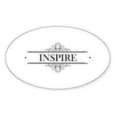 Inspire In Calligraphy Decal