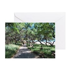 Beachside Greeting Card