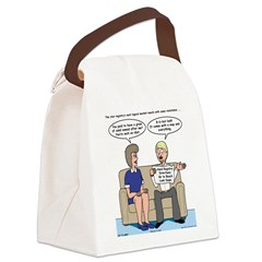 Sand Registry Canvas Lunch Bag