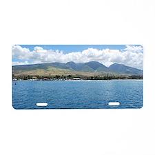 Lahaina Harbor Aluminum License Plate