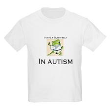 I have a black belt in Autism T-Shirt