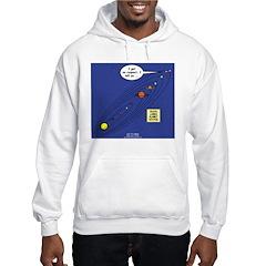 Pluto Loses Planet Status Hooded Sweatshirt