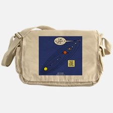Pluto Loses Planet Status Messenger Bag