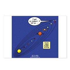 Pluto Loses Planet Status Postcards (Package of 8)