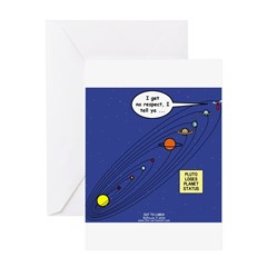 Pluto Loses Planet Status Greeting Card