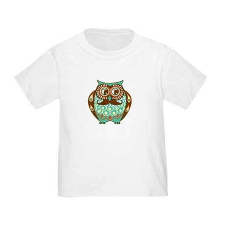 Fat Owl with Mustache T-Shirt