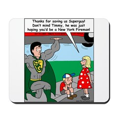 9-11 Super Heros Mousepad