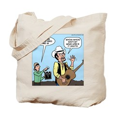 Macho Country Singer Tote Bag