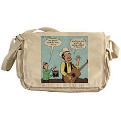 Macho Country Singer Messenger Bag