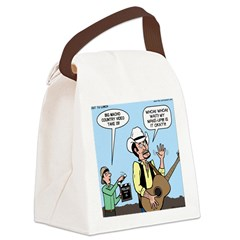 Macho Country Singer Canvas Lunch Bag