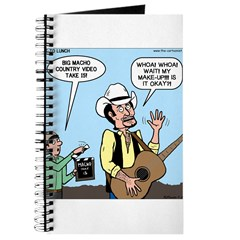 Macho Country Singer Journal