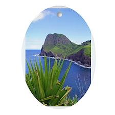 Kahakuloa Oval Ornament
