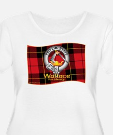 Wallace Clan Plus Size T-Shirt