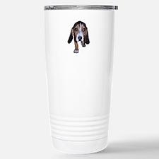 Beagle Puppy Walking Stainless Steel Travel Mug