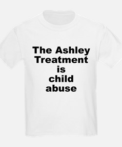 Ashley Treatment = Child Abuse Kids T-Shirt
