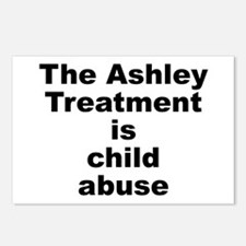 Ashley Treatment = Child Abuse Postcards (Package