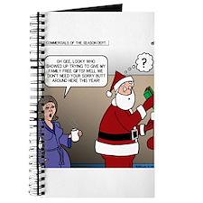 Santa Disrespected Journal