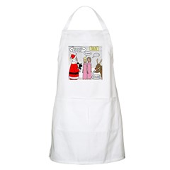 Santa Shopping Apron