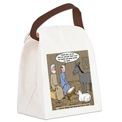 Manger Housekeeping Canvas Lunch Bag