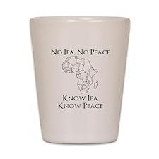 Know Ifa Shot Glass
