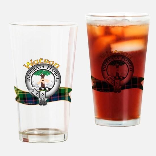 Watson Clan Drinking Glass