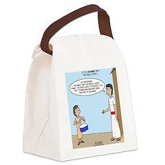 Little Drummer Boy Canvas Lunch Bag