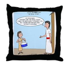 Little Drummer Boy Throw Pillow