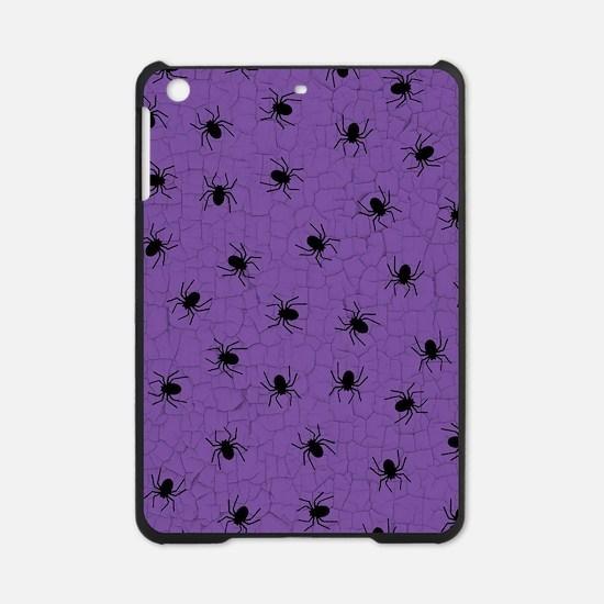 Purple Spider Pattern iPad Mini Case