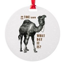 Do You Know What Day It Is Ornament