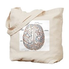 Surface of the Human Brain Tote Bag