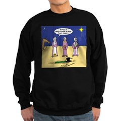 Frosty and the Wise Men Sweatshirt (dark)