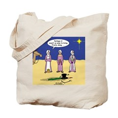 Frosty and the Wise Men Tote Bag