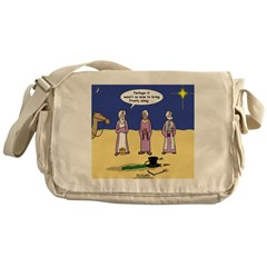 Frosty and the Wise Men Messenger Bag
