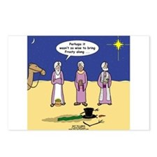 Frosty and the Wise Men Postcards (Package of 8)